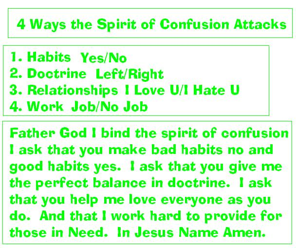 confusion attack and prayer