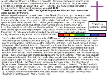 2007 Legit Prophetic