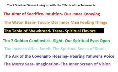 7 Spiritual Senses
